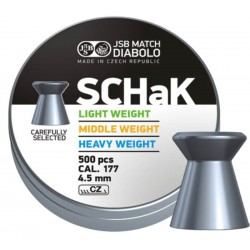 JSB Schak 4,5 Heavy Weight - blue