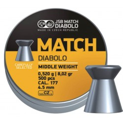 JSB Yellow Match Diabolo Middle Weight 4,50