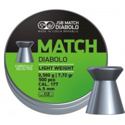 JSB Green Match Diabolo Light .475 kal. 4,48