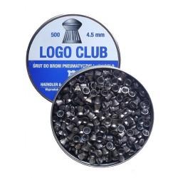 Śrut Diabolo H&N LOGO CLUB kal. 4,5mm (500szt.)