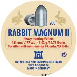 H&N Diabolo RABBIT MAGNUM II 4,5mm