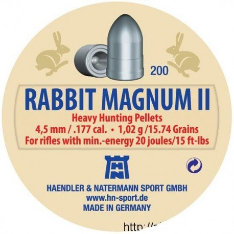 H&N Diabolo RABBIT MAGNUM II 4,5mm